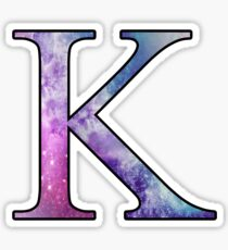 Kappa Galaxy Sticker