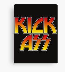 KICK ASS - Parody Canvas Print