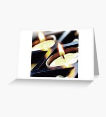 candle zen Greeting Card