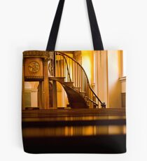 Golden Stairs Tote Bag