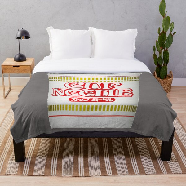 Cup Noodle Throw Blanket