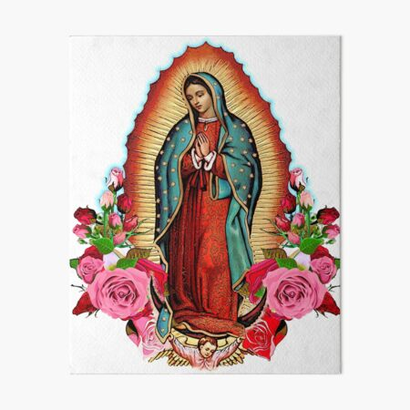 Our Lady of Guadalupe Art Board Print