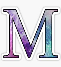 Mu Galaxy Sticker