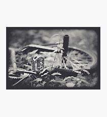 Abandoned BMX. Photographic Print