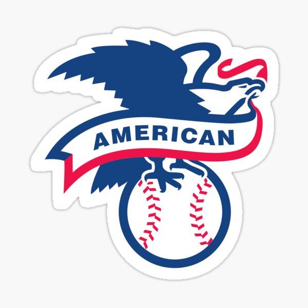 American Baseball League Sticker