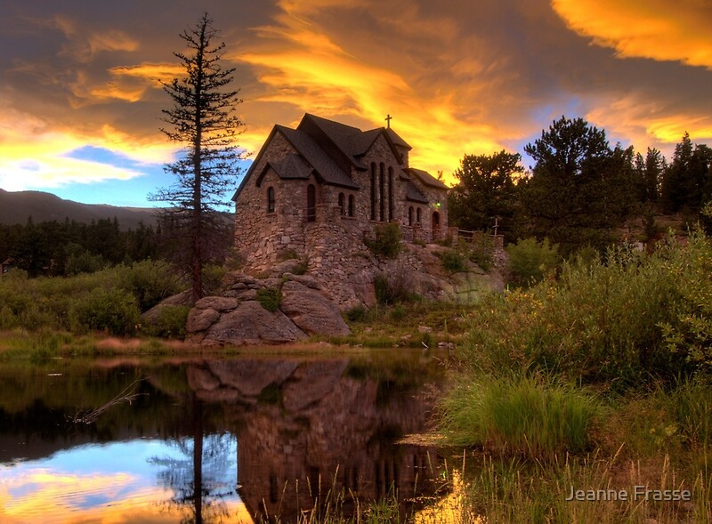 Quot Sunset Over St Malo Chapel Near Estes Park Co Quot By Jeanne