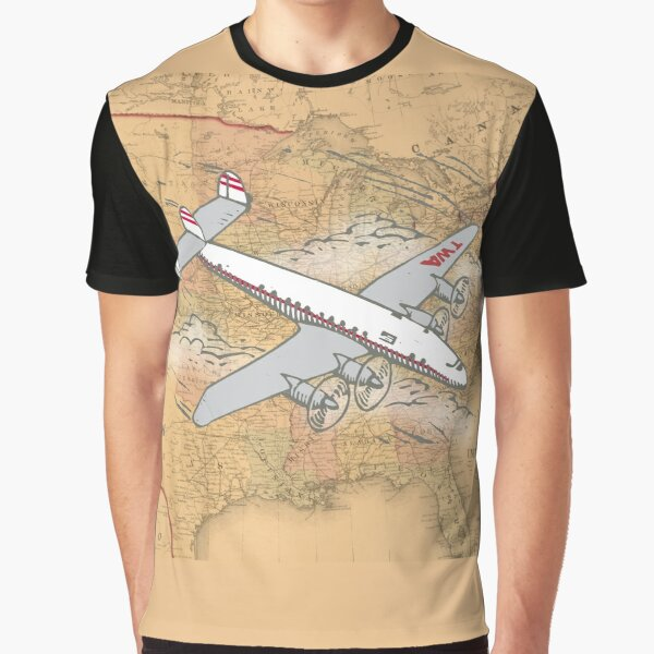 Lockheed Constellation Graphic T-Shirt