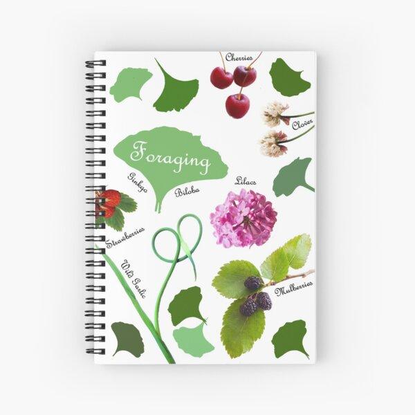 Foraging Love Spiral Notebook