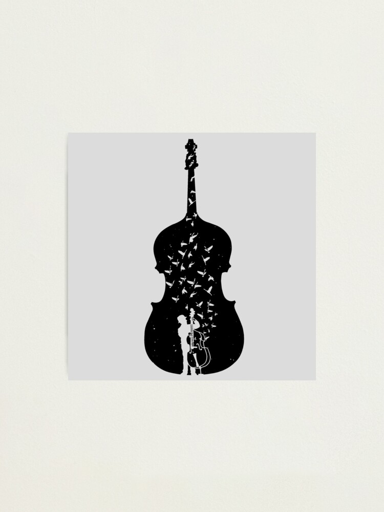 Alternate view of Double Bass Photographic Print