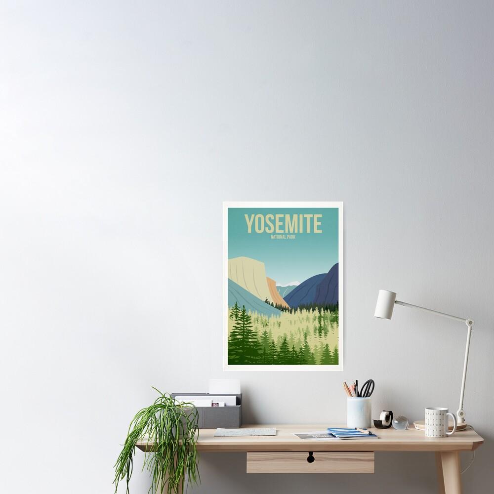 Yosemite National Park Poster