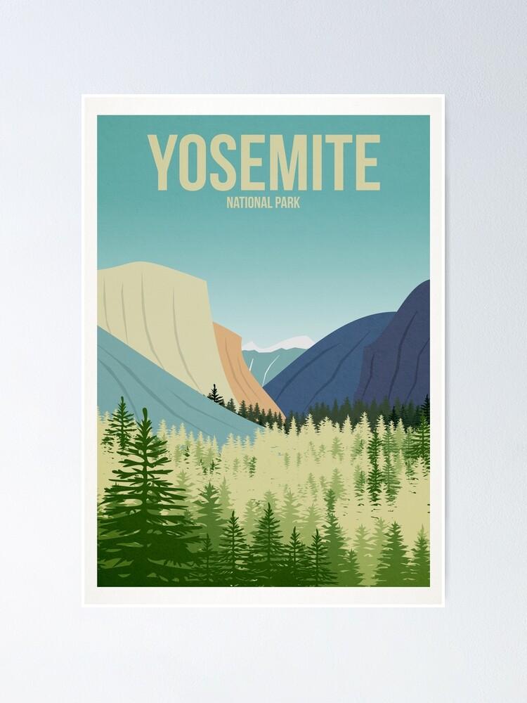 Alternate view of Yosemite National Park Poster