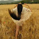Danse dans les blés by joseph Angilella AUQUIER