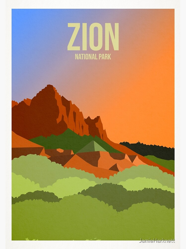 Postcard  Greetings From Zion National Park Postcard