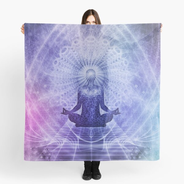 MEDITATE. BUDDHISM. Meditation. Spiritual. Yoga. Scarf