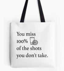 Shots! Shots! Shots! Tote Bag