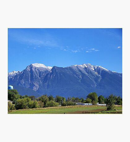 Mission Mountains (St. Ignatius) Photographic Print