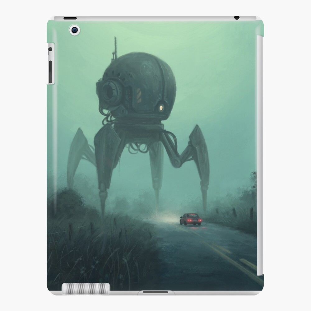 Unusual Tourist.  iPad Case & Skin