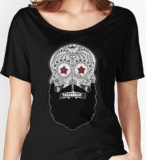 Skull Beard Women's Relaxed Fit T-Shirt