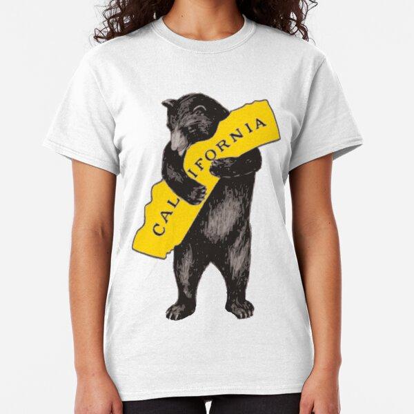 Vintage California Bear Hug Illustration Classic T-Shirt