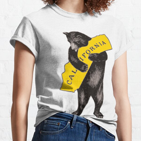 Vintage California Bear Hug Illustration Classic T-Shirt