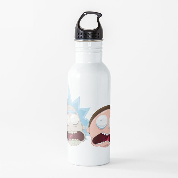 Rick and Morty yelling Water Bottle