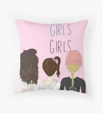 Girls Graphic Throw Pillow