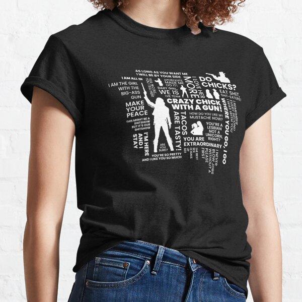 Wynonna Earp Word Cloud Classic T-Shirt