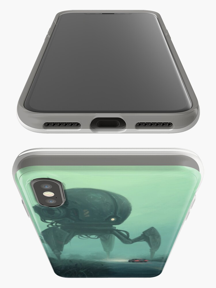 Alternate view of Unusual Tourist.  iPhone Case & Cover