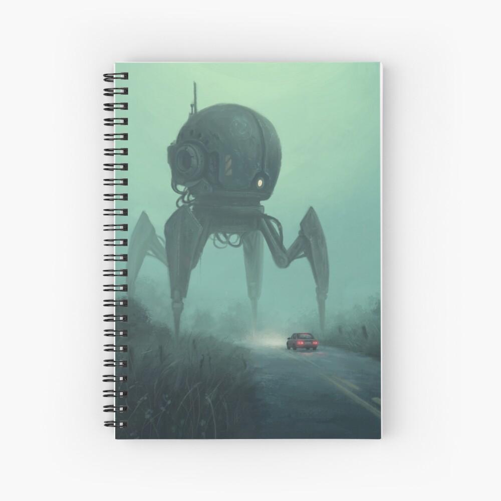 Unusual Tourist.  Spiral Notebook