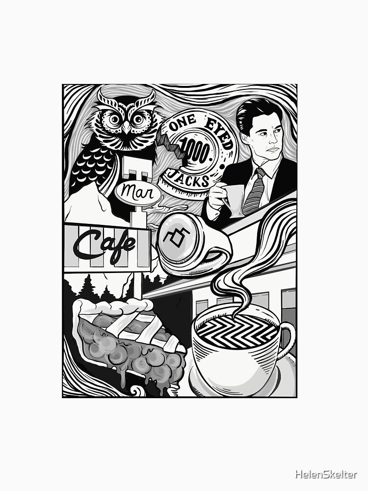 Twin Peaks- Damn Fine Coffee by HelenSkelter
