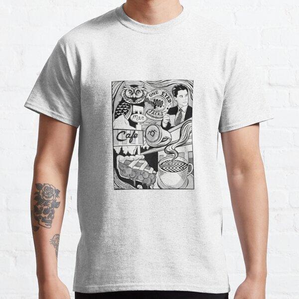 Twin Peaks- maldito buen café Camiseta clásica