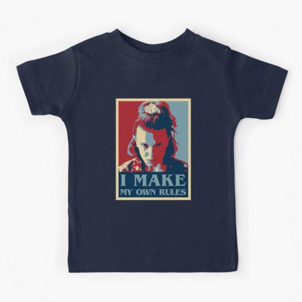 Establecer reglas Camiseta para niños