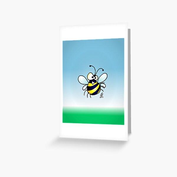 Bumbling bee Greeting Card