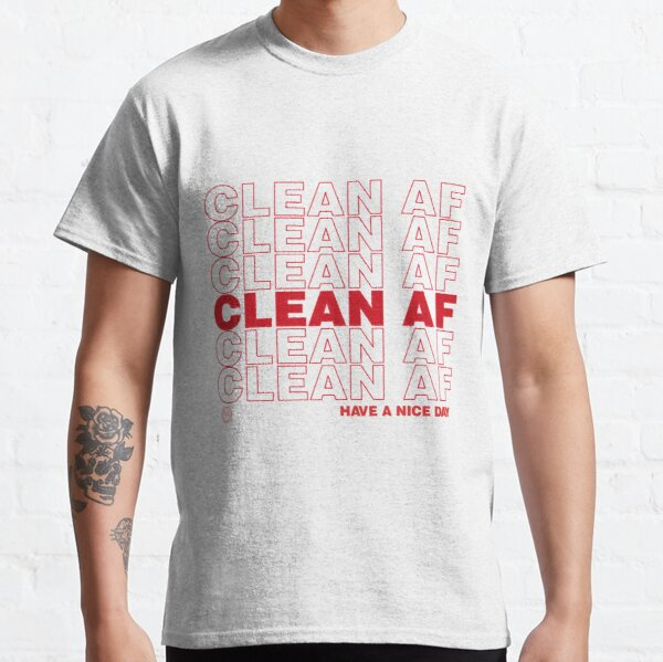 Clean AF Tank You Narcotics Anonymous NA AA Gifts  Classic T-Shirt