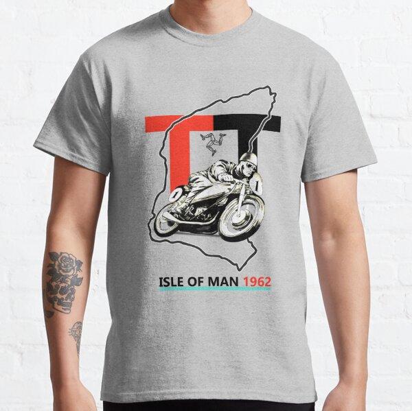 Vintage île de Man TT T-shirt classique