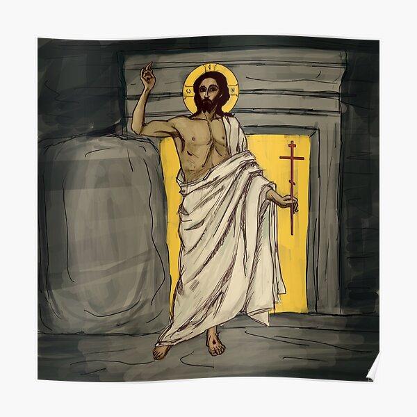 Resurrected Christ Poster