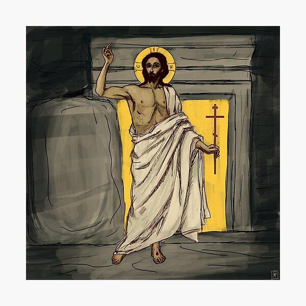 Resurrected Christ Photographic Print