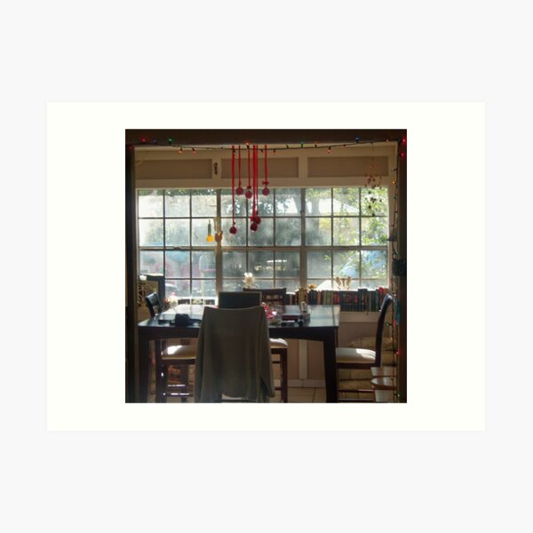 The Coziest Dining Nook Art Print
