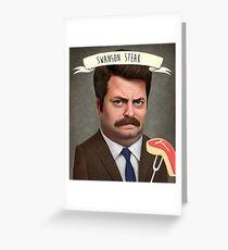 Swanson Steak Greeting Card
