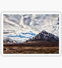 Glen Coe Mountains of Scotland Wow! Sticker