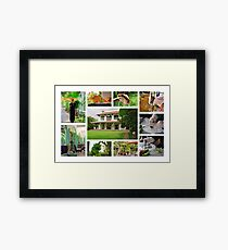 On The Mekong: Colonial Style Framed Print