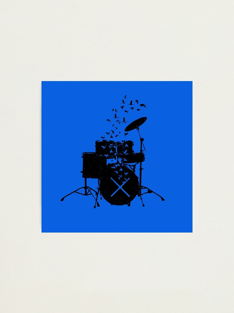 Alternate view of Drum - Drummers Photographic Print