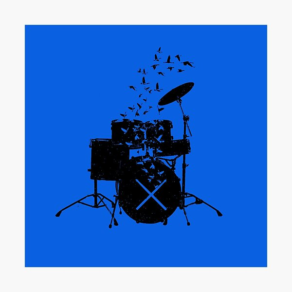 Drum - Drummers Photographic Print