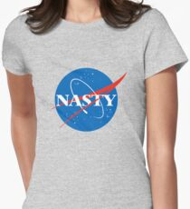 Nasty Women's Fitted T-Shirt