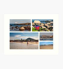 North Berwick: Seaside Art Print