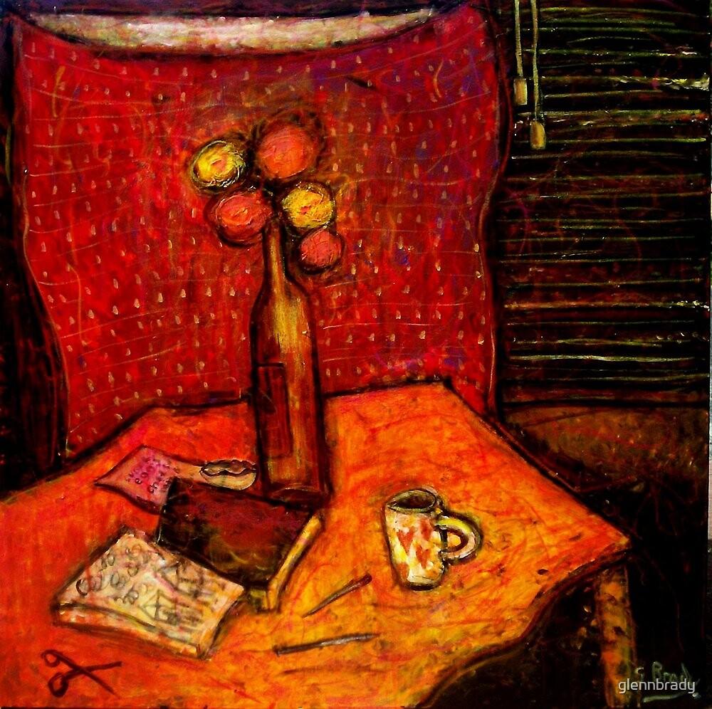 marigolds and sketchpads by glennbrady
