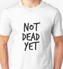 Not Dead Yet - Frank Turner Inspired T-Shirt (Black) Unisex T-Shirt