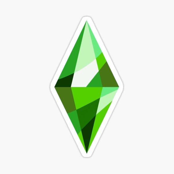 Sims 4 Rebranded Plumbob Sticker