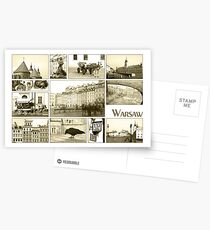 Warsaw Old Town Postcards