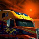 2008 Freightliner Coronado Semi Truck by TeeMack